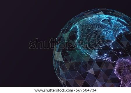 Digital world map global network satellite stock illustration digital world map global network satellite stock illustration 569504734 shutterstock gumiabroncs Choice Image