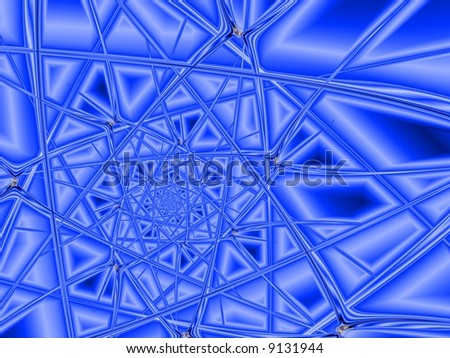 digitally background rendered from fractal