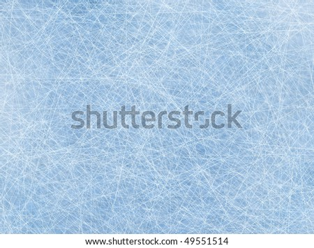 Digitally generated ice rink background with lines