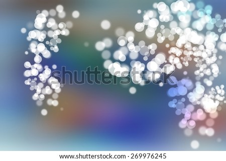 digitally generated image of colorful black background with beautiful bokeh  - stock photo