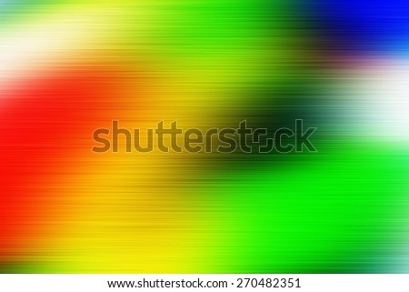digitally generated image of colorful black background with horizontal speed motion lines - stock photo