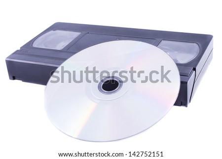 Digitizing video - stock photo