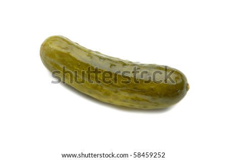 Dill Pickle - stock photo