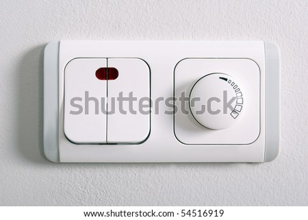 dimmer - stock photo