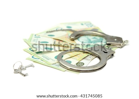 Dinars with handcuffs