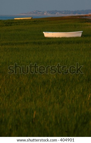 Dinghy Background - stock photo