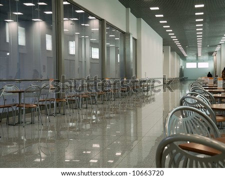 dining hall in commercial centre