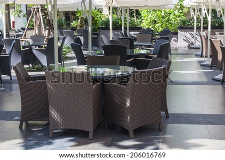 Dining Table Set - stock photo