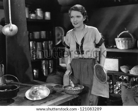 Dinner is served - stock photo