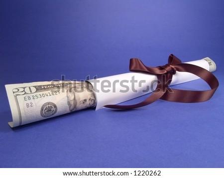 Diploma & Career - stock photo