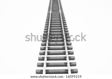 Direct way - stock photo
