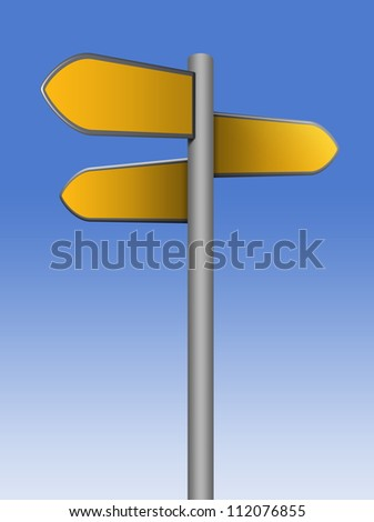 direction - stock photo