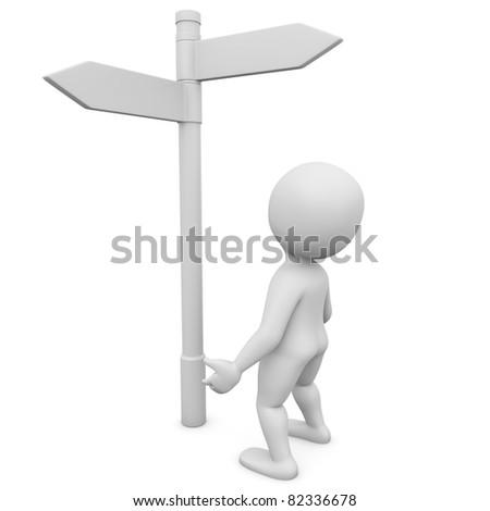 direction - stock photo