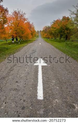 direction - symbolic image - stock photo