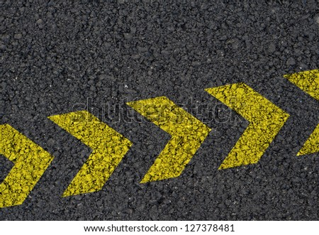 Directional arrows background