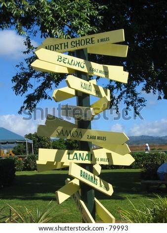 directions - stock photo