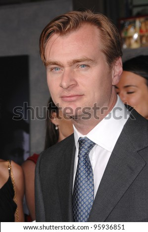 "Director CHRISTOPHER NOLAN at the world premiere, in Hollywood, of his new movie ""The Prestige"". October 17, 2006  Los Angeles, CA Picture: Paul Smith / Featureflash"