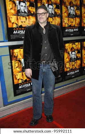 "Director NICK CASSAVETES at the world premiere of his new movie ""Alpha Dog"" at the Arclight Theatre, Hollywood. January 3, 2007  Los Angeles, CA Picture: Paul Smith / Featureflash"