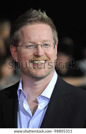 "Director/writer Andrew Stanton at the world premiere of his new movie ""John Carter"" at the Regal Cinemas L.A. Live. February 22, 2012  Los Angeles, CA Picture: Paul Smith / Featureflash - stock photo"