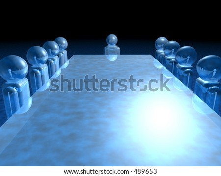 Directors board meeting - stock photo