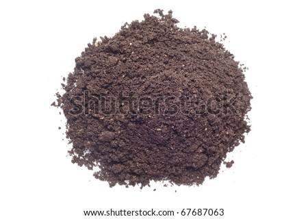 dirt pile - stock photo