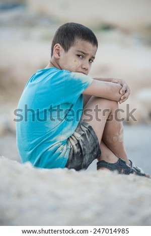 Dirty and poverty - stock photo