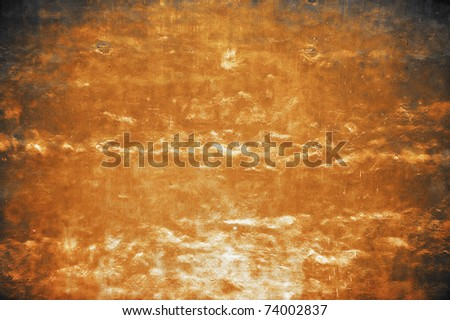 dirty background, brown wall - stock photo