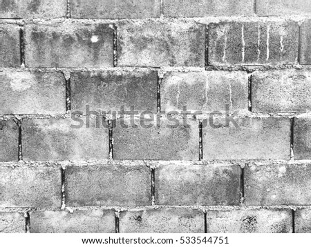 Dirty brick wall