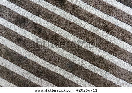 dirty carpet texture - stock photo