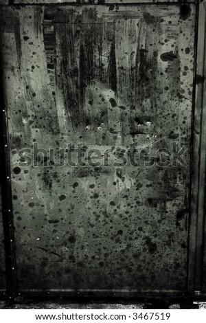 dirty door texture - stock photo