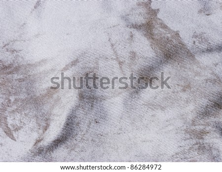 Dirty Fabric Texture - stock photo