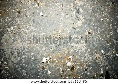 Dirty floor grunge texture. - stock photo