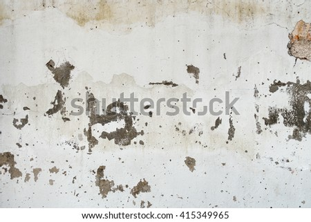 Dirty grunge concrete wall