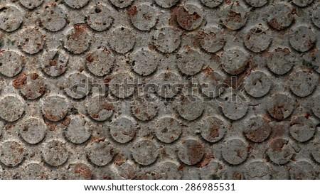 dirty metal texture - stock photo
