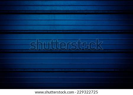 dirty metal texture, dark navy blue industrial grunge background - stock photo