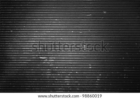 Dirty metal texture with spotlight - stock photo