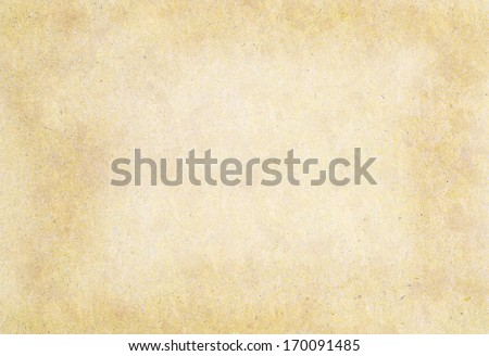 Dirty old paper isolated on white - stock photo