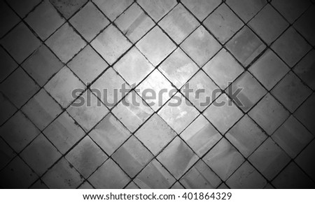 Dirty old stone wall, black, light black abstract. - stock photo