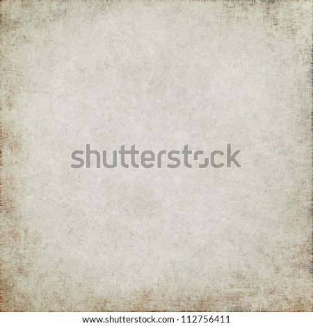 dirty parchment paper texture grunge background - stock photo