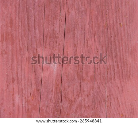 Dirty red wood background texture in vertical with grain - stock photo
