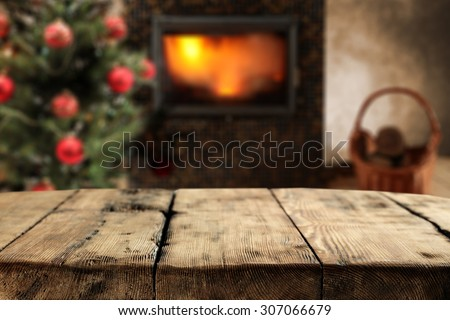 dirty shabby table place  - stock photo