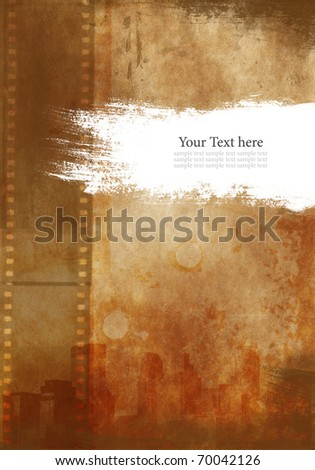 Dirty Vintage background - stock photo