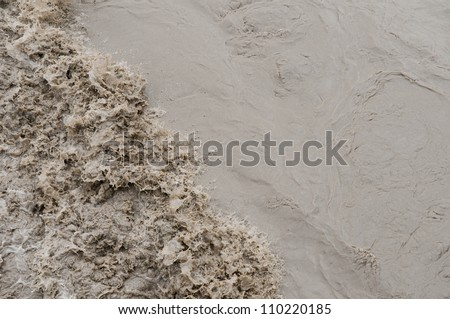 Dirty water - stock photo