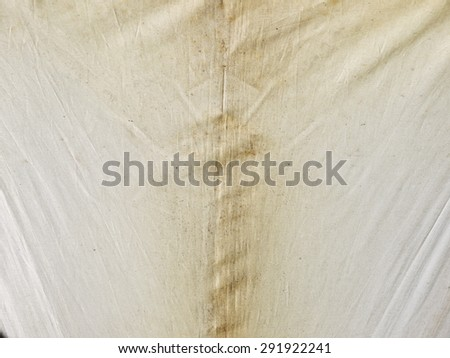dirty white fabric canvas texture - stock photo