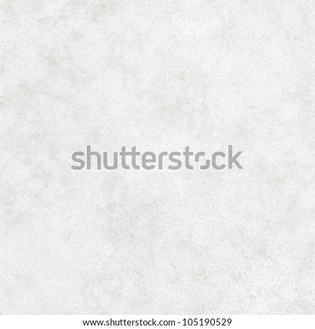 dirty white leather texture, may use as grunge background - stock photo
