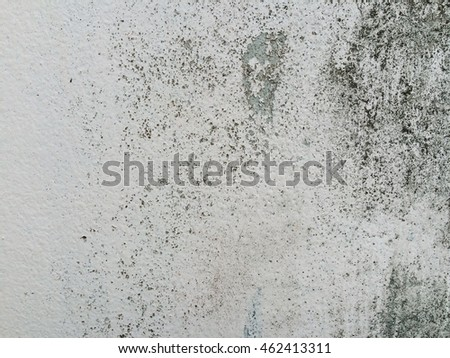 Dirty white paint concrete wall texture background