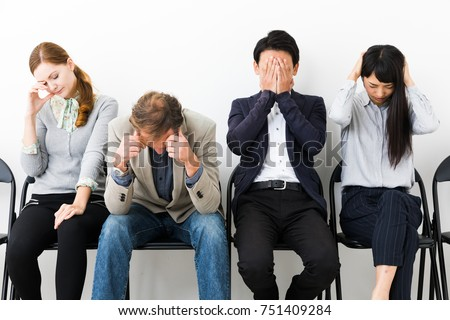 Disappointed Group People Stock Photo (Royalty Free ...