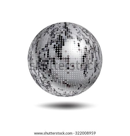 big silver disco ball stock photo 9355912 shutterstock