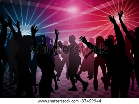 Disco Dance - stock photo