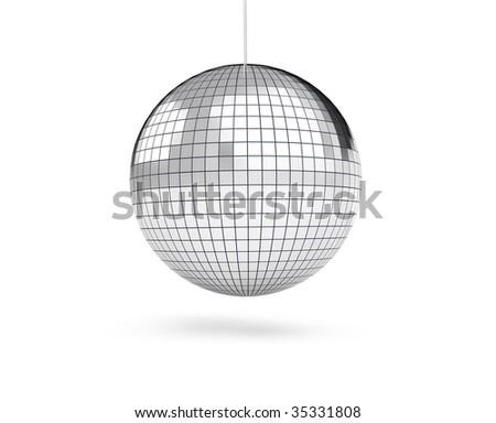 disco, discoball, - stock photo
